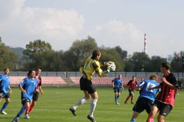 Brankár D. Kubína Trabalík inkasoval od Púchova štyri góly.