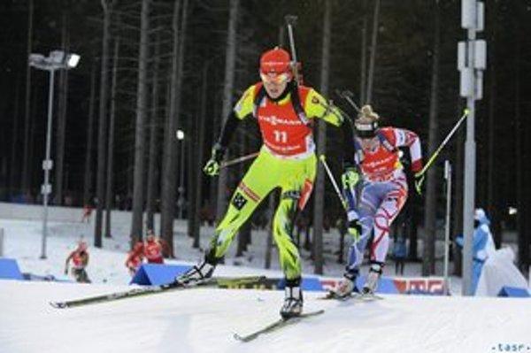 V desiatke najlepších našla svoje miesto aj Janka Gereková, ktorá v záverečných pretekoch s hromadným štartom uzatvárala vo výsledkovej listine TOP 10.
