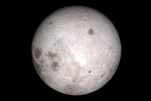 Záber odvrátenej strany Mesiaca vznikol na základe meraní sondy Lunar Reconnaissance Orbiter.