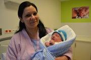 Katarína Ferencová so synom Štefanom.