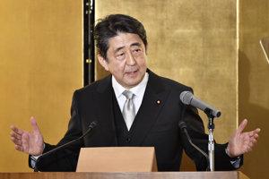 Japonský premiér Abe.