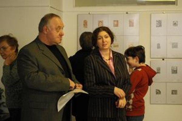 Víťazoslav Chrenko s Alenou Teicherovou.