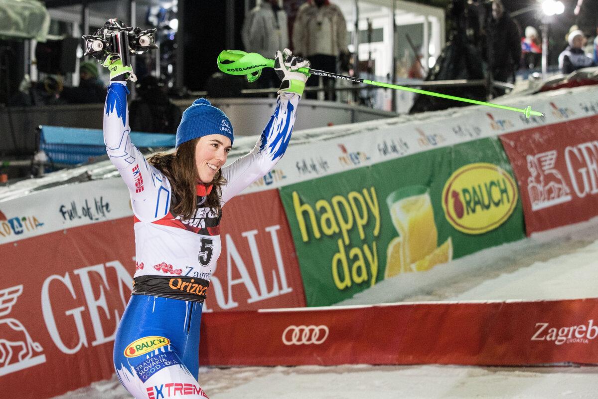7d975e3e691d6 Petra Vlhová zvládla slalom v Záhrebe aj napriek viróze - Šport SME