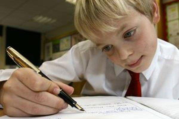 Ilustarčné foto: Niektoré deti potrebujú v škole individuálny prístup.