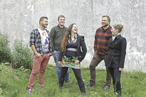 Nórsko slovenská kapela Vimarida.