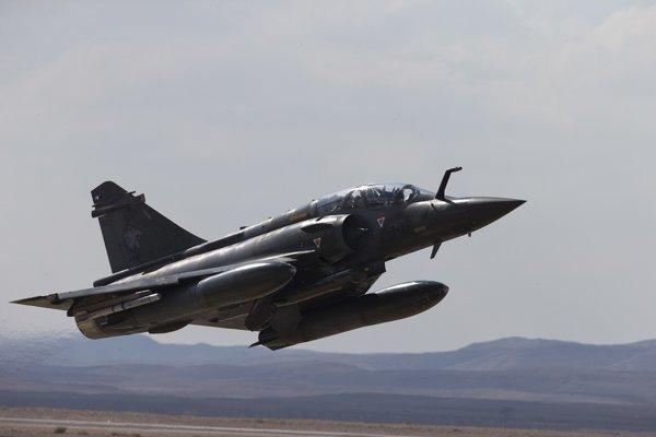 Stíhačka Mirage 2000.