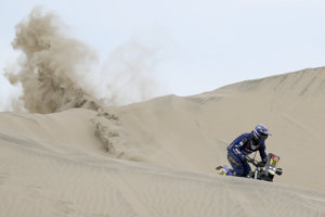 Francúz Xavier De Soultrait na Rely Dakar 2019.