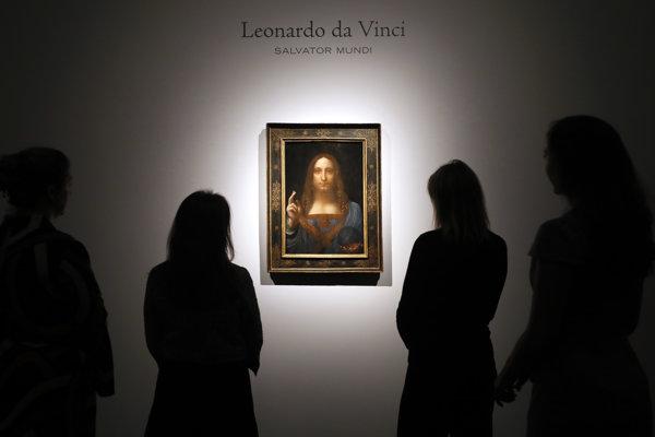 Da Vinciho maľba Salvator Mundi.