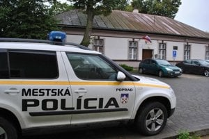 Mestská polícia Poprad.