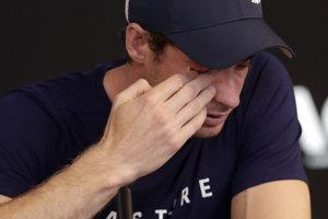 Andy Murray sa neubránil slzám.