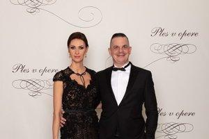 Dano Dangl, herec a režisér s manželkou Beátou Dangl