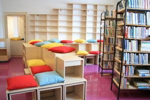 Knižnica získala moderný dizajn.