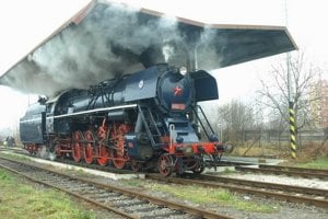 Parný rušeň Albatros bol najrýchlejšou parnou lokomotívou v Československu.