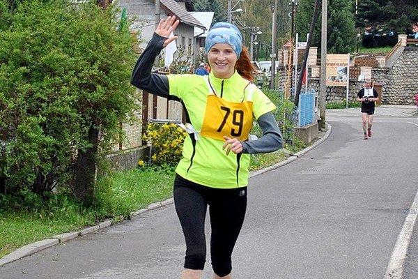 Šiesta v kategórii Ženy 35 - 49 rokov Zuzana Macková z TJ Bodice.