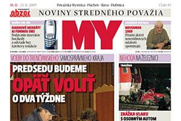 MY Noviny stredného Považia.