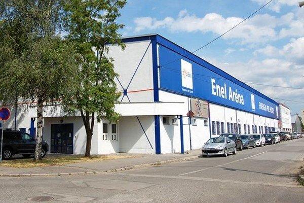 Enel Aréna v Liptovskom Mikuláši.