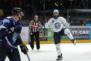 Mitch Versteeg z HK Nitra počas 47. kola Tipsport ligy medzi HK Nitra – HK Poprad. Nitra, 18. január 2019.