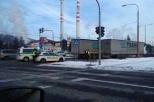 Na Košickej ulici došlo k nehode.
