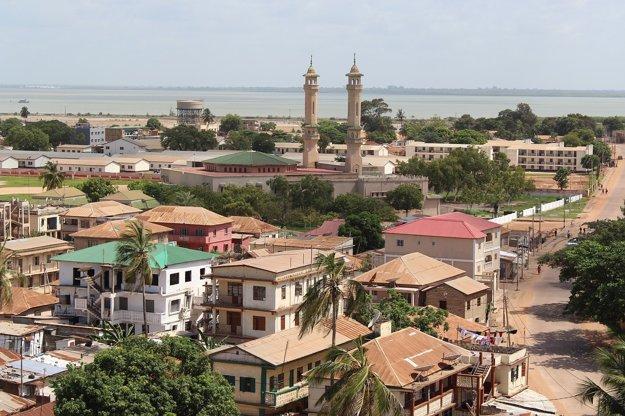 Panoráma mesta Banjul