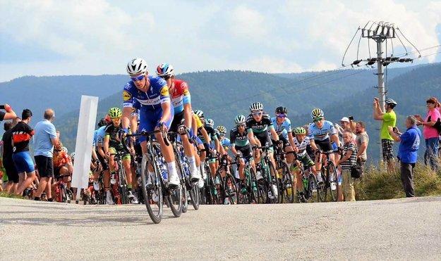 Cyklistické preteky Okolo Slovenska prechádzali aj cez Turiec