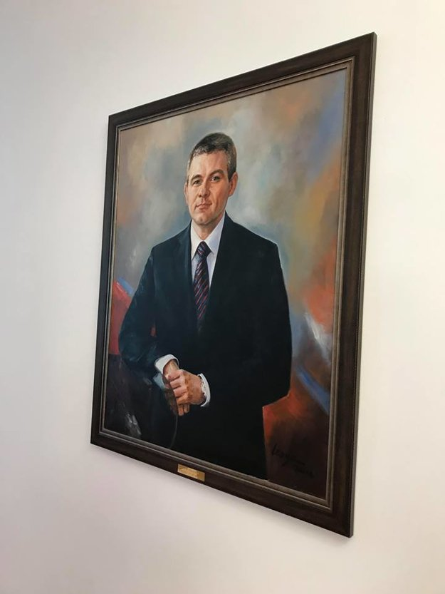 Portrét Petra Pelleriniho.