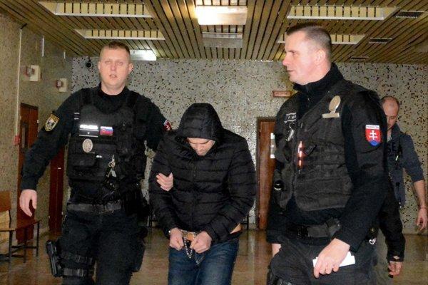 Ukrajinec na súde.