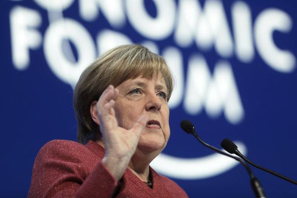 Nemecká kancelárka Merkelová.