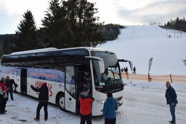 Víkendový 4x4 Skibus v SKI Centre Košútka