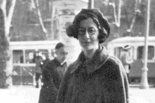 Filozofka a aktivistka Simone Weilová.