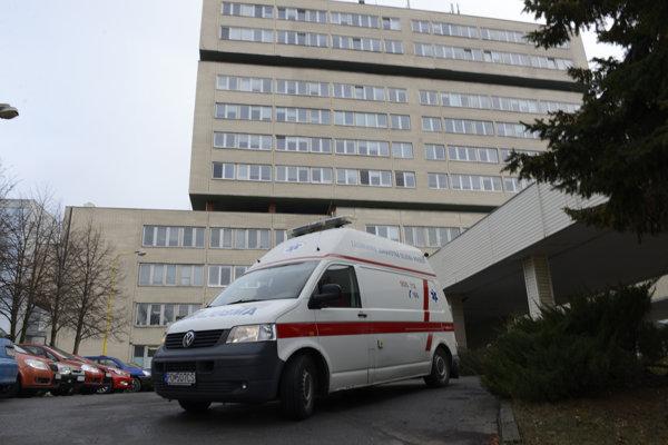 Nemocnica v Prešove.