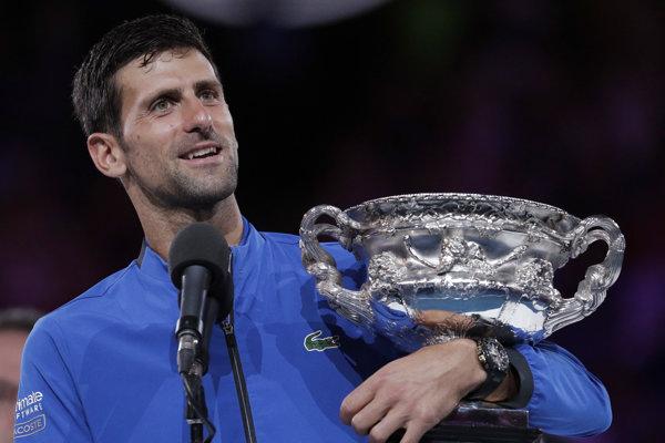 Novak Djokovič ďakoval aj Mariánovi Vajdovi.