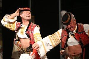 Folklórny súbor Očovan. Ilustračné foto.