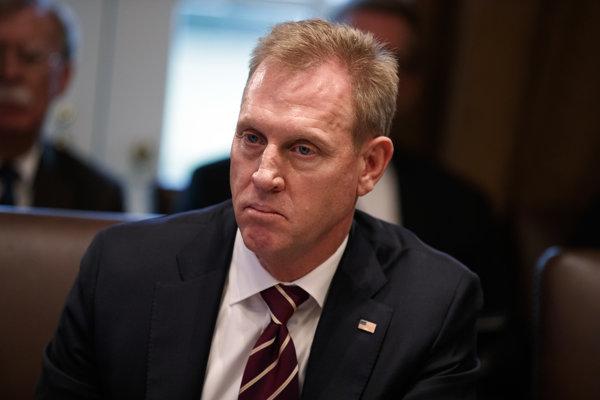 Úradujúci minister obrany USA Patrick Shanahan.