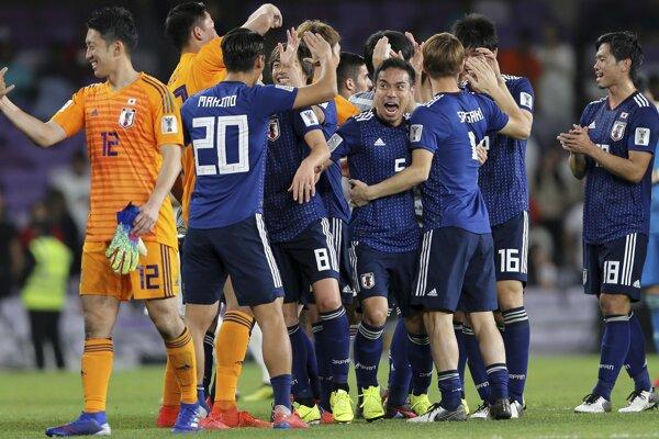 Futbalisti Japonska.