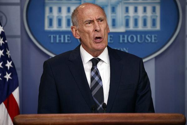 Šéf amerických tajných služieb Dan Coats.