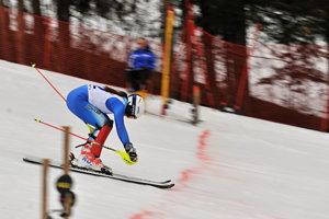 Jančová vcieli slalomu žien vCene Malej Fatry vroku 2018.
