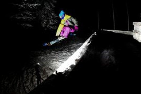 Jednou z najúspešnejších slovenských freestylových lyžiarok je Mikulášanka Natália Šlepecká.