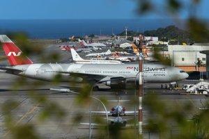 Lietadlo ruskej spoločnosti Nordwind stojí v Caracase už od pondelka. Údajne je pripravené vyviezť štátne zlato.