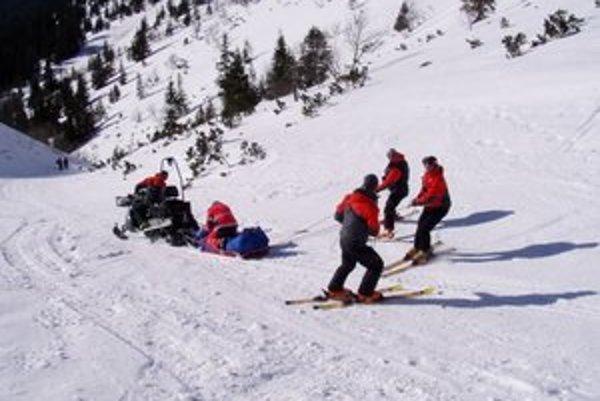 Turisti by mali zvážiť, či budú riskovať vážne zranenia na horách, ktoré sa premenili na ľad.