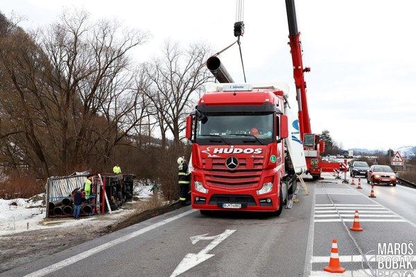 Nehoda sa stala v časti Brodno.