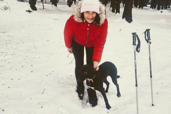 Barbora Madariová a jej rodina sa stále nevedia vyrovnať so stratou prítulnej fenky Elie.
