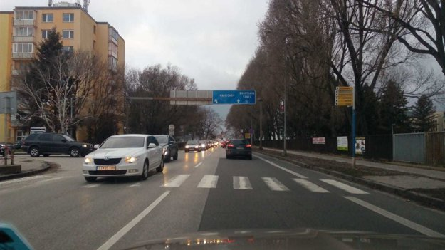 Aktuálna situácia na Tamaškovičovej.