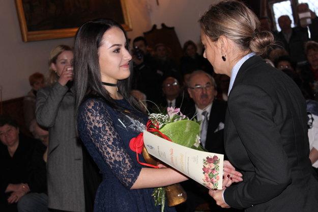 Cenu Mariána Ondáša si prevzala aj Katarína Gáplovská.