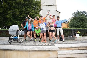 Rekreační bežci z Gemera zaujali netradičnou výzvou.
