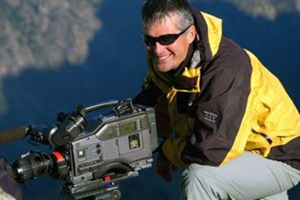 Cestovateľ, filmár a dobrodruh Pavol Barabáš.