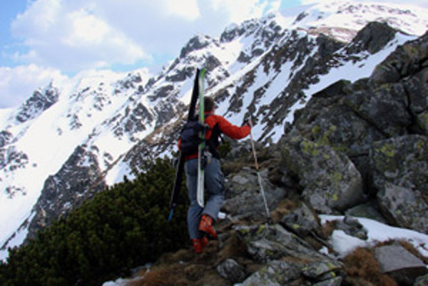 Do Nízkych Tatier chodia turisti často.
