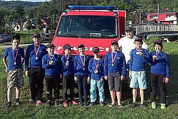 Družstvo z Dohnian absolvovalo na súťaži svoju premiéru.