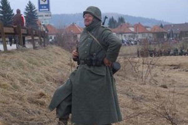 Spomienka na oslobodzovacie boje na konci druhej svetovej vojny v Bobrovci.