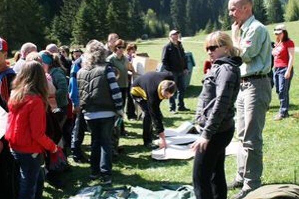 Deti si vypočuli prednášku z úst riaditeľa Národného parku Veľká Fatra Petra Vantaru.