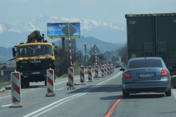 Vodiči musia počítať s dopravnými obmedzeniami.